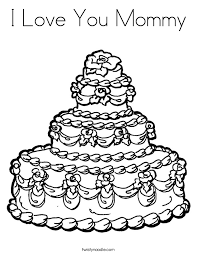 Small Picture I Love You Mommy Coloring Page Twisty Noodle