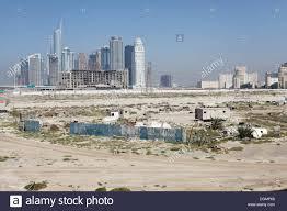Barren land with high-rise buildings, urban development area, Nakheel Stock  Photo - Alamy