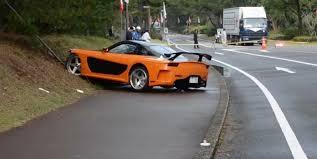 mazda rx7 fast and furious. u0027fast u0026 furiousu0027 mazda rx7 veilside fortune crash 5 people struck in japan after car lost control videos rx7 fast and furious