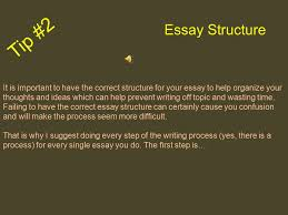 how to write an awesome five paragraph essay the easy way ppt tip 2 essay structure