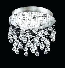 semi flush mount crystal chandeliers lighting 4
