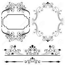 border and frame designs for cards or invitations royalty free Wedding Card Frame Border Vector border and frame designs for cards or invitations stock vector 12067290 Black Vector Border Frame