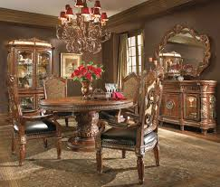 Traditional Dining Room Sets Michael Dining Room Sets Round Table - Traditional dining room set