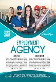 Recruitment Brochure Template Free Recruitment Flyer Templates In Psd By Elegantflyer