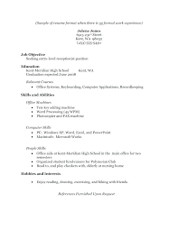 student resume no experience sample no experience resume high school student resume template no