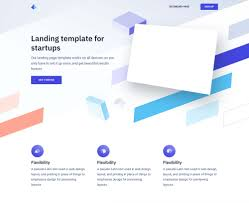 Html Print Preview Design Twist Landing Page Template For Startups Html