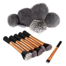 savisto essentials uk makeup brushes set