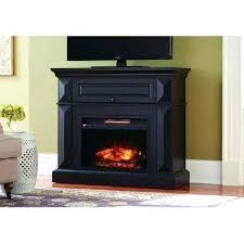 tv stand with infrared fireplace mantel console infrared electric fireplace in black in in h berkeley