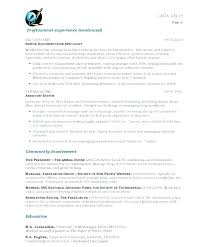 Resume Writing Samples Free Resume Letter Collection