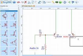 how to draw circuit diagram pcb layout and simulate circuit online how to make a schematic diagram editing components in a schematic