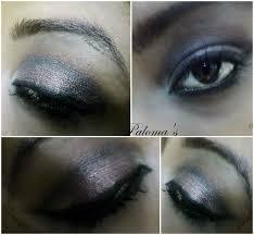 a smokey bronze eye makeup using mua single pearl eyeshadow
