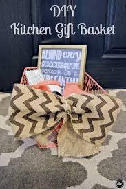 Kitchen Gift Basket Diy Kitchen Gift Basket