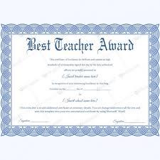 Best Teacher Certificate Templates Free Best Teacher Certificate Templates Free Condo Financials Com