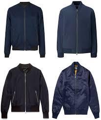 best men s navy ma 1 jacket