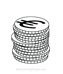 Money Coloring Page Coin Coloring Pages Money Coloring Pages For