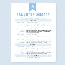 Resume Templates For Beginners Light Blue Resume Template Package Resume Templates Creative Market 22