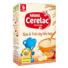 Bột Ăn Dặm Cerelac Gạo Trái Cây 200g (Cho Bé Từ 6 Tháng) –  thienduongtretho.com