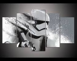 stormtrooper star wars movie 2  on star wars canvas panel wall art with print stormtrooper star wars movie poster painting modern home decor