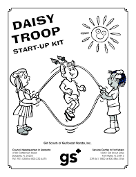 Coloring Pages Daisy Scout Coloring Pages Girl Scouts Free