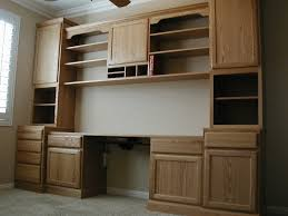 Built In Office Desk And Cabinets Office Desk With Filing Cabinet Built In Office Desk And Cabinets