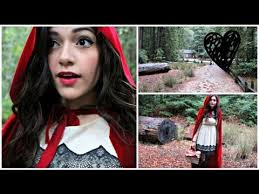 little red riding hood diy costume make your own cape