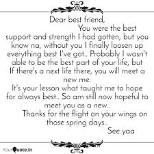 Best Friend Support Quotes Welkombijdeheeren