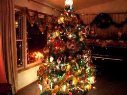 Vintage Bubble Light Christmas Tree- A capella Jingle Bells - YouTube
