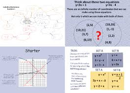 26 free simultaneous equations worksheets and lesson plans for ks3 and ks4 maths