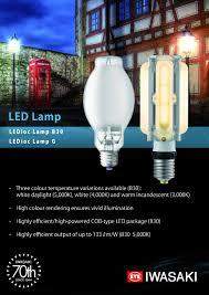 Promotional Led Lights Promotional Leaflet For Eye Lightings Retrofit Led Lamps