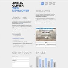Symplicity Cv Portfolio Page. Weekly Free Download Personal Resume ...