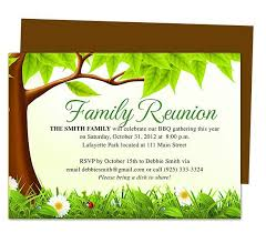 Printable Family Reunion Invitations Family Reunions Are A Wonderful Time To Reach Our And