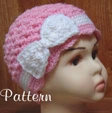 Chemo Cap Crochet Pattern Extraordinary CROCHET PATTERN Chemo Hat Bow Flower Cap Cancer Pink Beanie Etsy
