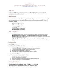 Cover Letter Resume For Waitress Position Resume For Waitress Job