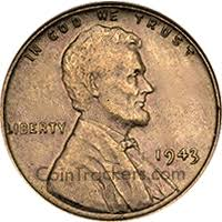 1943 Copper Wheat Penny Value Cointrackers