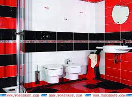 Bathroom Design with Red Tiles - Top 2 Best