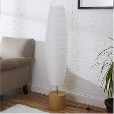 Paper Shade Floor Lamp Gorgeous Mainstays Rice Paper Shade Floor Lamp Bamboo Finish Walmart