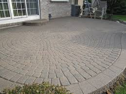 Patio Lowes Patio Pavers Patio With Pavers We Got The