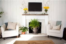 10 ways to decorate your fireplace in the summer since you won t need it anyway photos huffpost