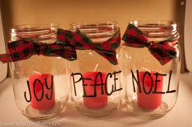 Decorating Mason Jars With Ribbon Mason Jar Christmas Candles Love Pasta and a Tool Belt 17