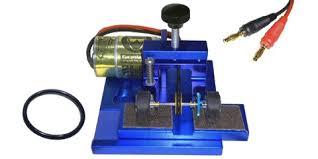 professor motor pmtr1401b universal tire truing machine 1 32 or 1 24 blue