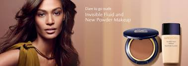 the invisible powder came in last year in the clic estée lauder packaging this foundation es with a dual sided sponge that is kept in its own