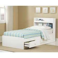 white twin storage bed. Get Quotations · New Visions By Lane Twin Storage Bed With Headboard, White D