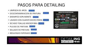 Chemical Guys Detailing Flow Chart Presentacion Detailing