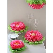 Tissue Paper Flower Ideas Large Tissue Paper Flower Decorations Magdalene Project Org
