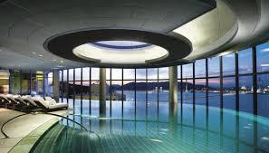 indoor infinity pool. Indoor Infinity Pool O