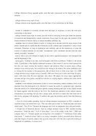 how to format a college application essay co cover letter essay format for college standard