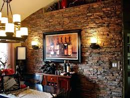 faux stone accent wall to enlarge diy faux stone accent wall