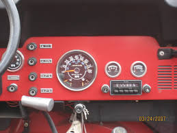 looking for dash pics original tach jeepforum com 1984 cj clock and tach
