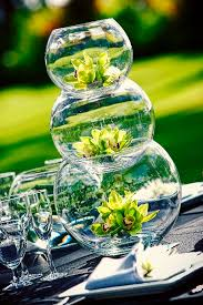Glass Bowl Decoration Ideas fish bowl wedding flower centerpiece Wedding Ideas Pinterest 21