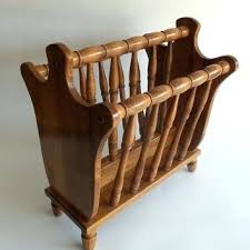 superb wooden magazine rack vintage on nice small home decor inspiration with b87 vintage